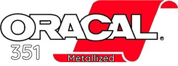 Oracal 351 serie Metallized