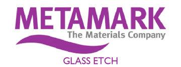 Metamark Glas Etch