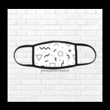 Sublimatie Mondkapje 16,5 x 11cm