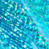 726050 Cyan triangular -iridescent- CC heat activated foil_