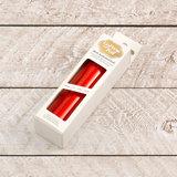 725389 Red-Orange Iridescent CC heat activated foil_