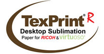 A4 Texprint R voor Ricoh en Virtuoso/Sawgrass