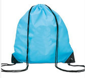 Gym/Zwem Tas Polyester Turquoise