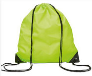 Gym/Zwem Tas Polyester Lime