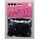 Confetti Hart 6mm Zwart