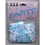 Confetti It's a Boy blauw/wit