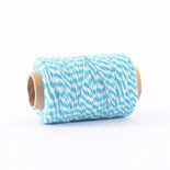 Bakers Twine turquoise-wit