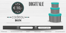 Digitale Cadeaubon t.w.v. € 10,-