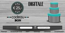 Digitale Cadeaubon t.w.v. € 25,-