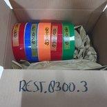 Restant rollen Oracal 8300 Serie Transparant 5st.