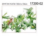 Stenzo Paneel 120x150cm Giraf White