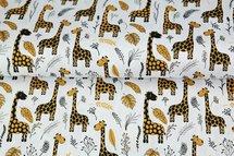 Stenzo Tricot Baby Giraffe White Yellow