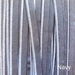 Paspelband Elastisch Navy
