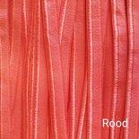 Paspelband Elastisch Rood