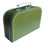 25cm koffertje olijfgroen