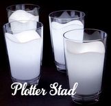 Nachtlampje Glas Melk