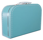 25cm koffertje turquoise