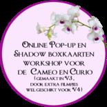Online Workshop pop-up kaarten en shadow-boxkaarten ontwerpen
