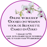 Online workshop doosjes ontwerpen voor de Silhouette Cameo & Curio.
