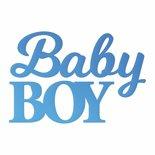 CC Baby Boy Sentiment Mini Die