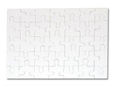 Sublimatie puzzel A4