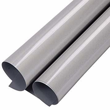 Reflecterend zilver grijze flex