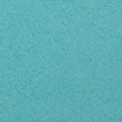 Vilt 2mm Mint Blauw 30,5x30,5cm