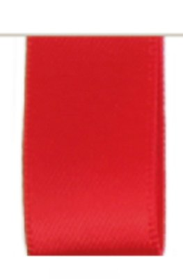 Satijn Lint Double Face 10mm  Red
