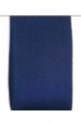 Satijn Lint Double Face 10mm Dark Blue