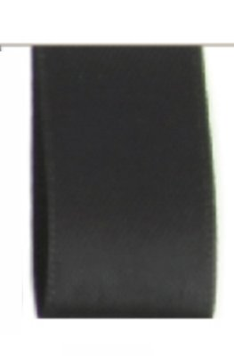 Satijn Lint Double Face 16mm Black