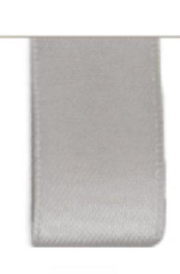 Satijn Lint Double Face 25mm Dark Grey