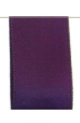 Satijn Lint Double Face 25mm Purple