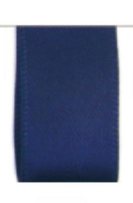 Satijn Lint Double Face 25mm Dark Blue