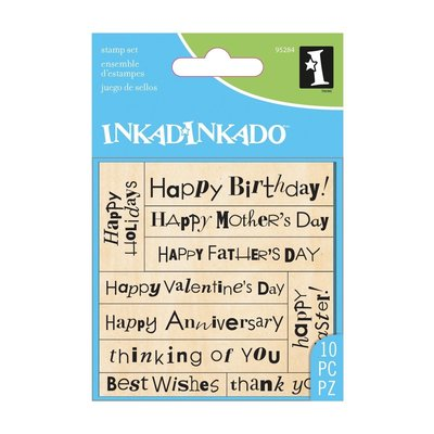 Inkadinkado stamp set