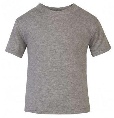 Baby & Kinder T-Shirt Grijs 0-3mnd