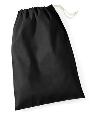 Maat L Cotton Stuff Bag Black