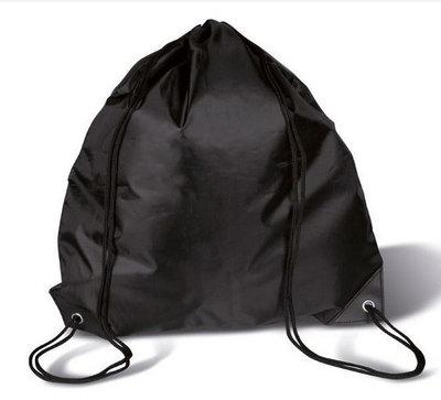 Gym/Zwem Tas Polyester Zwart