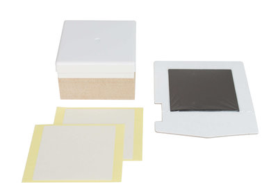 Silhouette mint stamp Kit 15x15mm