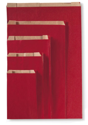 Paper Gift Bags Red XS (10st.)