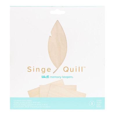 We R Memory Keepers  Singe Quill Wood Veneer Sheets