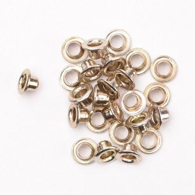 Eyelets metallic nickel