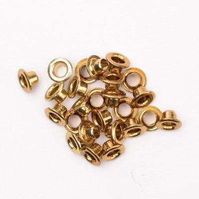 Eyelets metallic brass