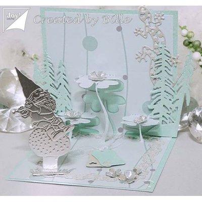 Joy!Crafts Spiegelkarton Zilver A4