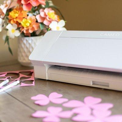 Silhouette Cameo 4 White Edition (met starterspakket)
