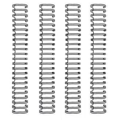 We R Memory Keepers Cinch Wires 4 pack Black 1,6cm