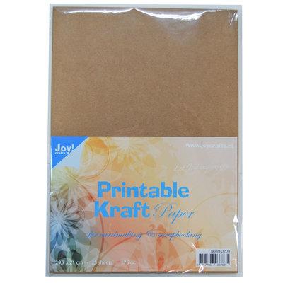 Joy!Crafts Printable Kraft Paper A4
