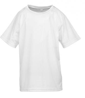 Sublimatie Junior Aircool T-Shirt Wit