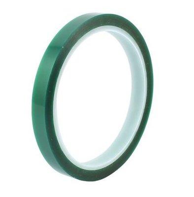 Hittebestendige Groene Tape 10mm  op=op