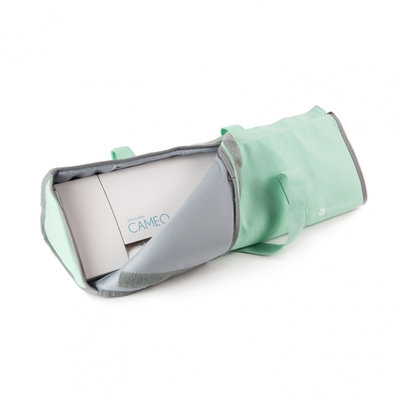 Silhouette cameo 1&2 light tote green