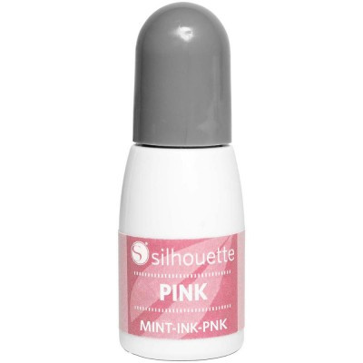 Silhouette mint inkt pink
